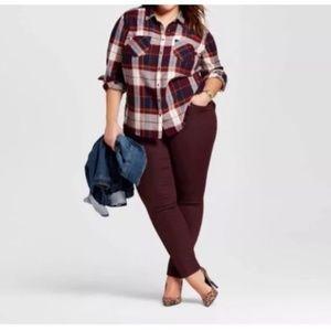 Ava & Viv Skinny Leg Jeans w/Stretch - 22W - NWT
